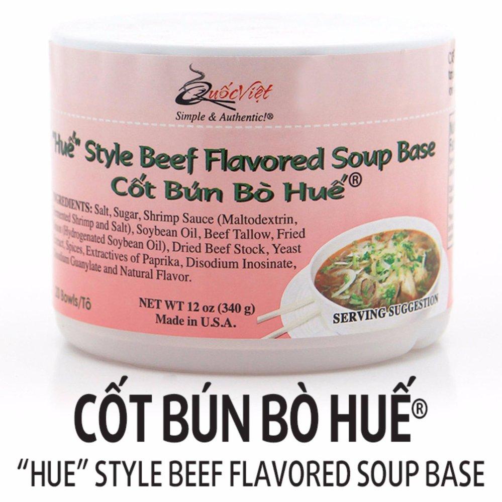 Cốt bún bò Huế ® Quốc Việt Foods (283g)