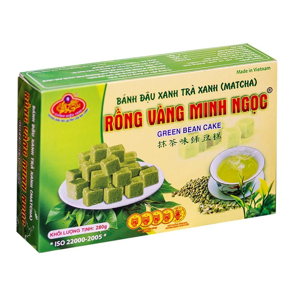 Cập Nhật Giá 3 Hộp Bánh đậu xanh trà xanh Rồng vàng Minh Ngọc 840g ( 3 hộp ) Huongquemart – Đặc Sản Hải Dương