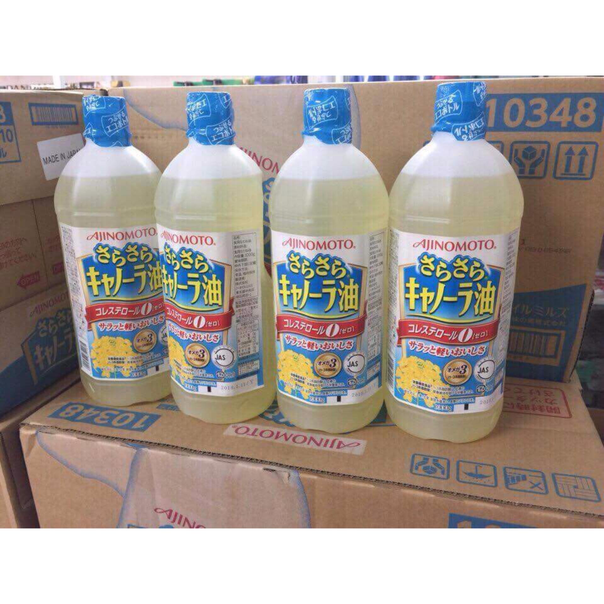 Chỗ bán Dầu Hạt Cải Ajinomoto Nhật Bản (1000ml) – lựa chọn số một cho sức khỏe