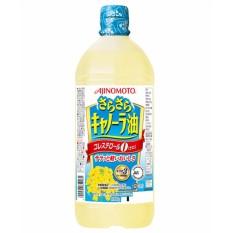 Dầu hoa cải Ajinomoto nguyên chất 1Kg hàng nhập khẩu Nhật Bản