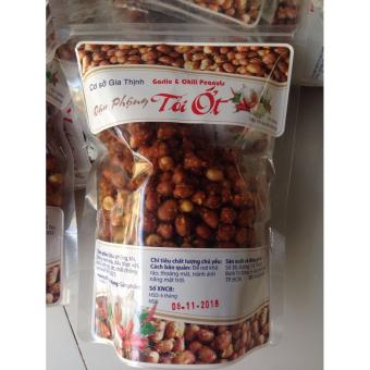 Gói đậu phộng tỏi ớt ăn liền 500g - Gia Thịnh