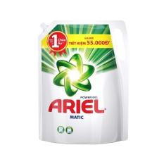 Gói nước giặt Ariel Base Matic gel túi đậm đặc 2.4kg