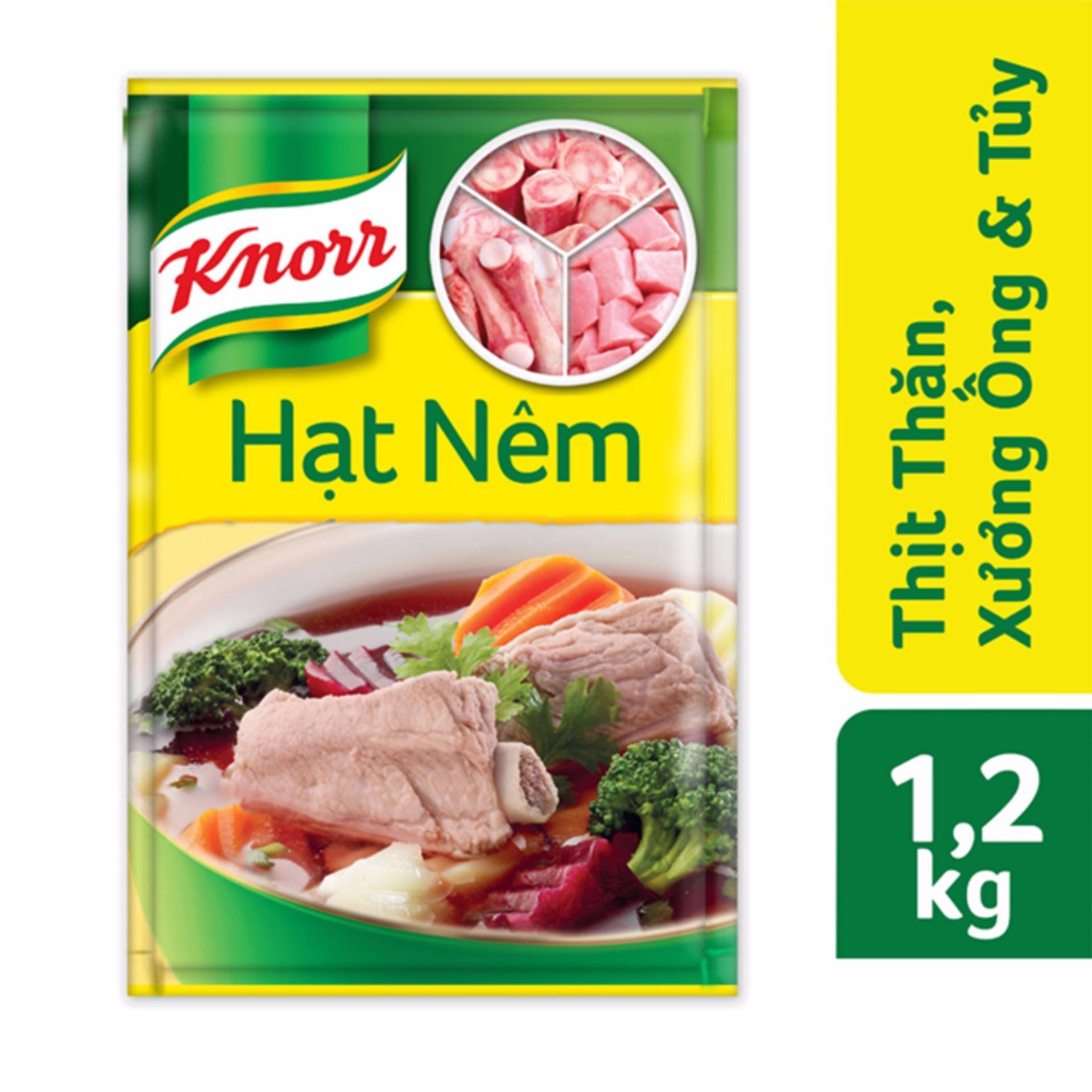 Hạt nêm Knorr từ thịt thăn xương ống tủy 1200g – SAMSUNG CONNECT