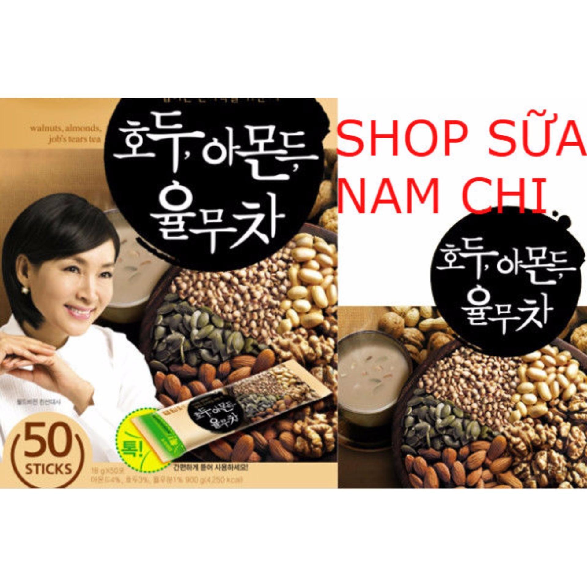 Hộp 50 gói Ngũ cốc Damtuh Hàn Quốc – 900gr