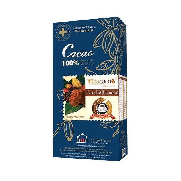 """Nơi Bán Hộp bột Cacao nguyên chất """"Good Afternoon"""" Hộp 150gram"""
