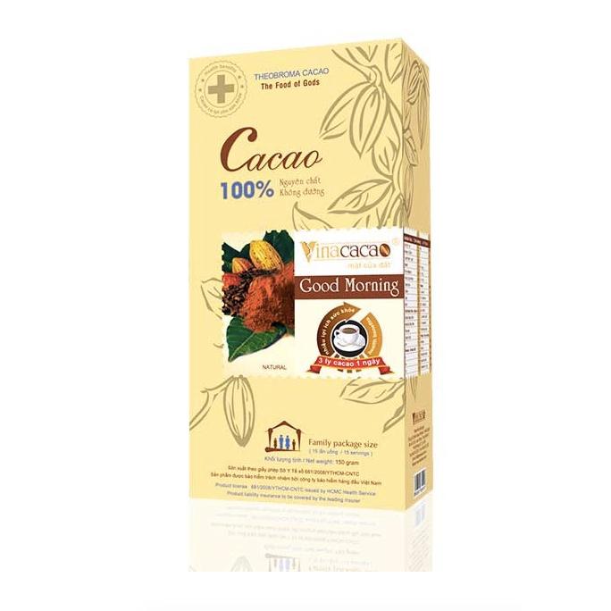 """Hộp bột Cacao nguyên chất """"Good Morning"""" Hộp 150gram"""