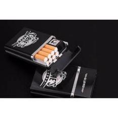 Hộp đựng thuốc lá kèm bật lửa hồng ngoại kèm cáp sạc