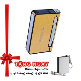 Hộp đựng thuốc lá kiêm bật lửa khò F641 (Vàng) + Tặng diêm chịunước quẹt bằng xăng độc đáo classic - 8281367 , NH110WNAA21EZ0VNAMZ-3473481 , 224_NH110WNAA21EZ0VNAMZ-3473481 , 144762.8 , Hop-dung-thuoc-la-kiem-bat-lua-kho-F641-Vang-Tang-diem-chiunuoc-quet-bang-xang-doc-dao-classic-224_NH110WNAA21EZ0VNAMZ-3473481 , lazada.vn , Hộp đựng thuốc lá kiêm b