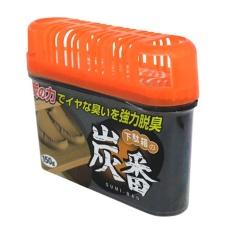 Hộp khử mùi tủ giày than hoạt tính (Đen) hàng nhập khẩu Nhật Bản