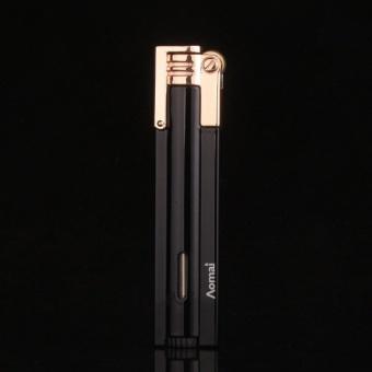 Hộp Quẹt (Bật Lửa )ga đá Aomai 7101(đen) Auto-fun