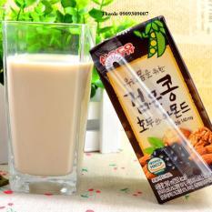 Hộp sữa Óc chó, Hạnh Nhân, Đậu Đen Hàn Quốc 190ml