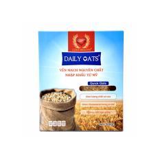 Hộp Yến mạch Daily Oats 100% nguyên chất từ Mỹ 500 – Rolled