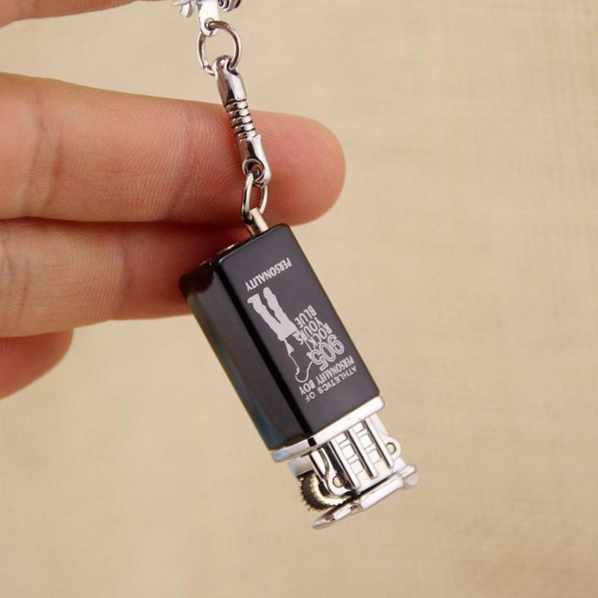 Hot quet Bật lửa móc khóa nhỏ gọn sang trọng LS625 Gapuky (Nhiều màu)