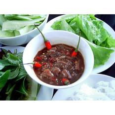 Hũ 1 kg Mắm mực Quy Nhơn Hương quê mart.vn