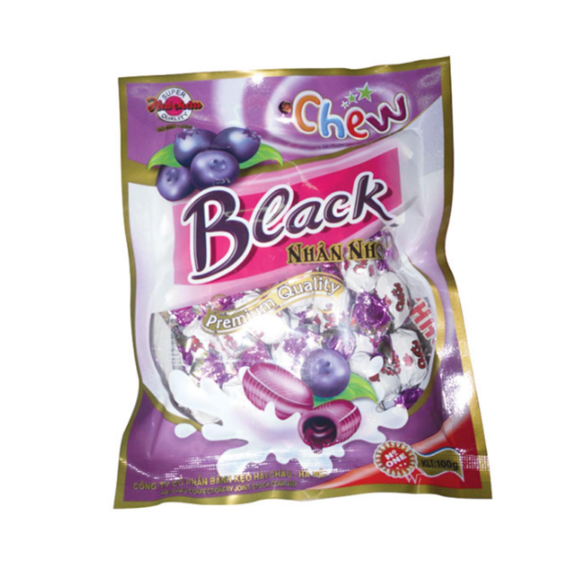 Bảng Báo Giá Bộ 2 gói Kẹo Chew nhân nho xoắn 260gr