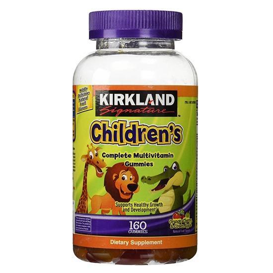 Kẹo dẻo bổ sung Vitamin cho trẻ em – Kirkland Signature Children's Complete Multivitamin 160 viên