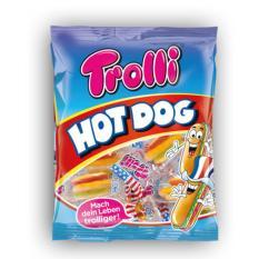 Kẹo dẻo Trolli hình bánh kẹp xúc xích
