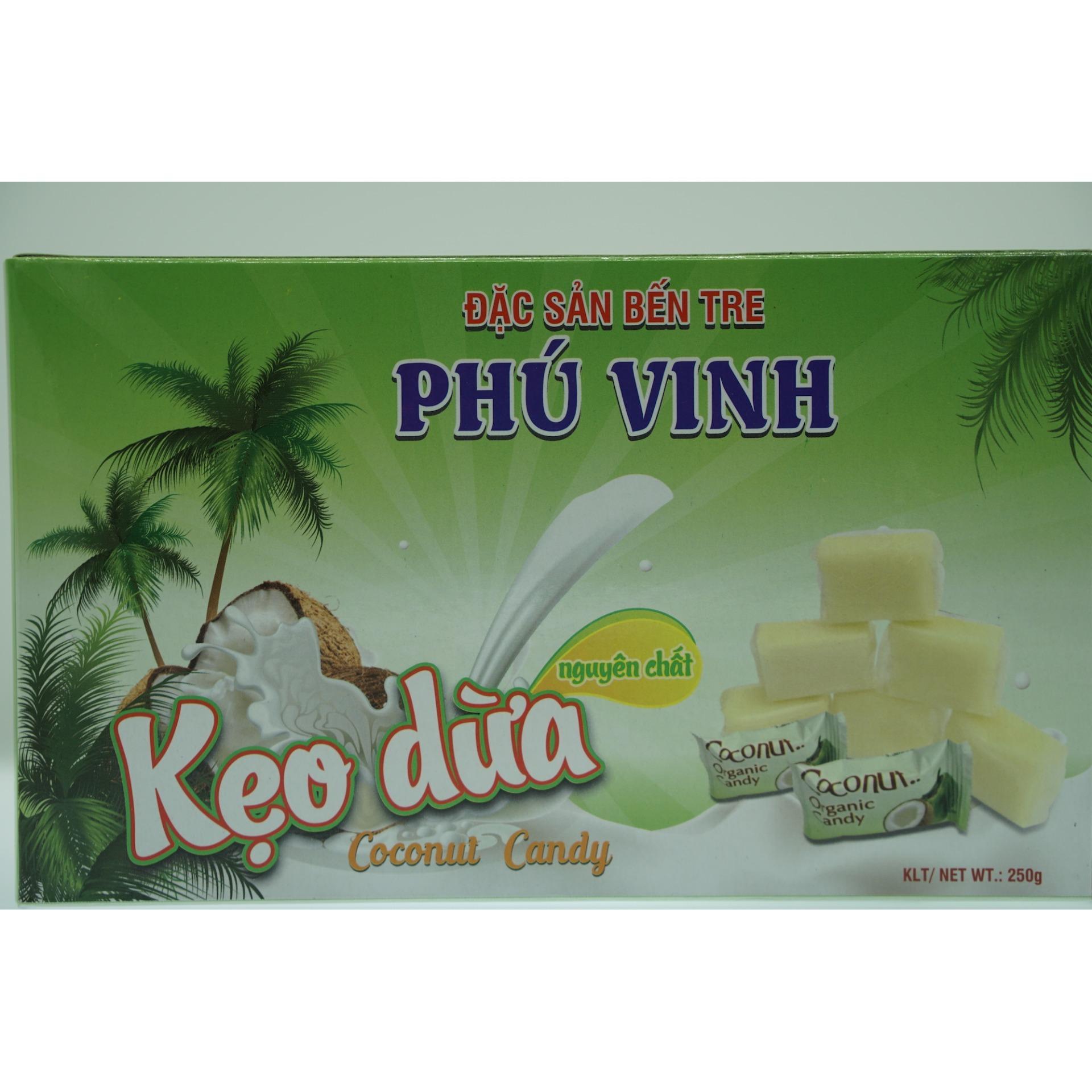 Giá Khuyến Mại Kẹo Dừa Phú Vinh