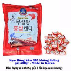Bảng Báo Giá Kẹo Hồng Sâm Không Đường 500g Hàn Quốc Cao Cấp