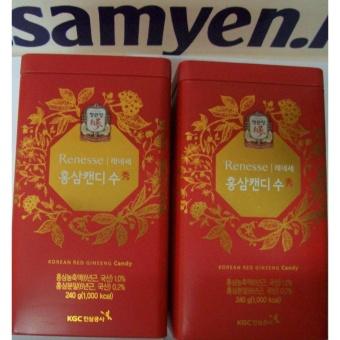 Kẹo hồng sâm Hàn Quốc 2 hộp 240g-PP bởi Sâm Yến Thái An
