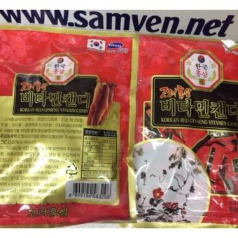 Kẹo hồng sâm vitamin Hàn Quốc 2 gói 200g-PP bởi Sâm Yến Thái An