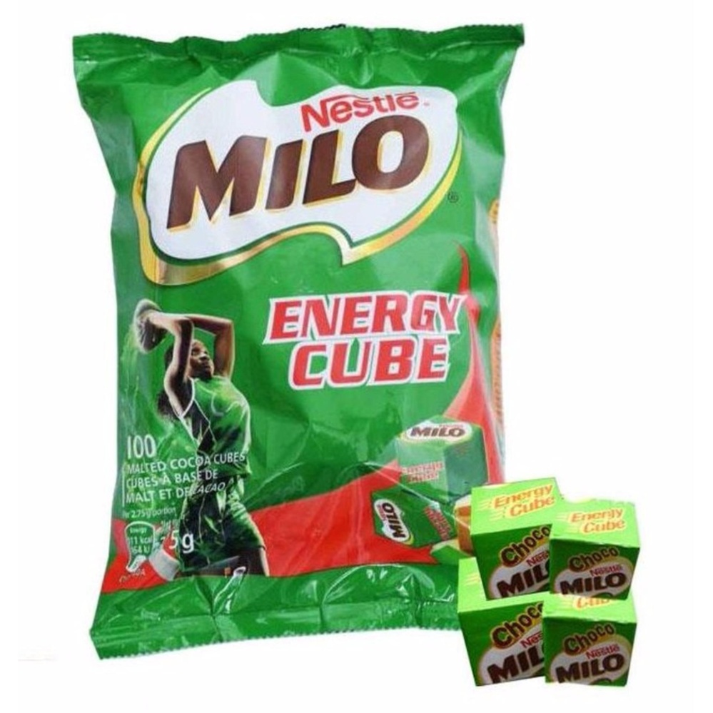Kẹo MILO CUBE 275g – 100 viên dte 6/2019
