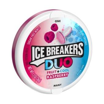 Kẹo ngậm ICE BREAKERS RASPBERRYcủa Mỹ