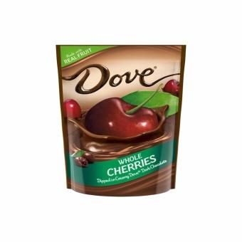 Kẹo socola đen bọc trái anh đào ( trái cherries ) Dove real cherries dark chocolate 482 g