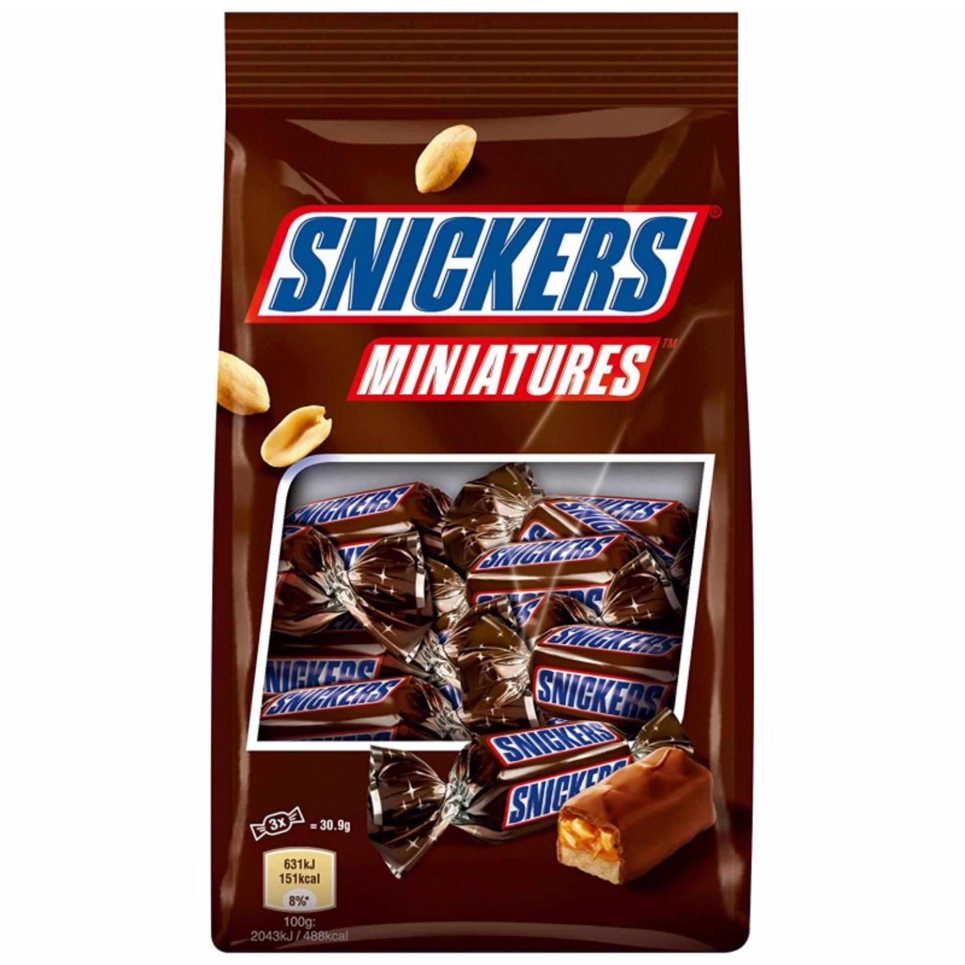 Cách mua Kẹo Socola Snickers Miniatures 150g