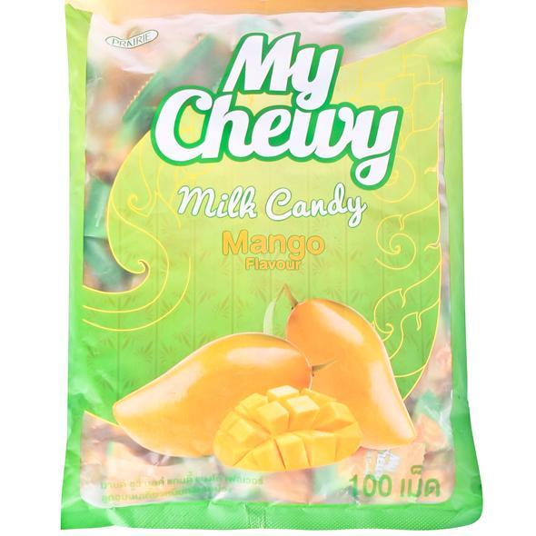 Cửa hàng bán Kẹo sữa mềm My Chewy Milk Candy Mango (Mã Vạch Thái) 380g/100 viên =