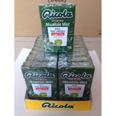 Cách mua Kẹo thảo mộc bạc hà Mountain Mint hiệu Ricola 40g