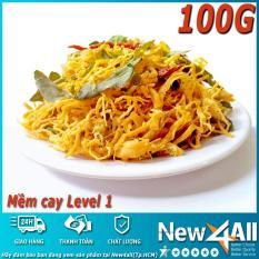 Đánh Giá Khô gà lá chanh New4all (100g) loại mềm (Mềm Cay cấp độ 1)