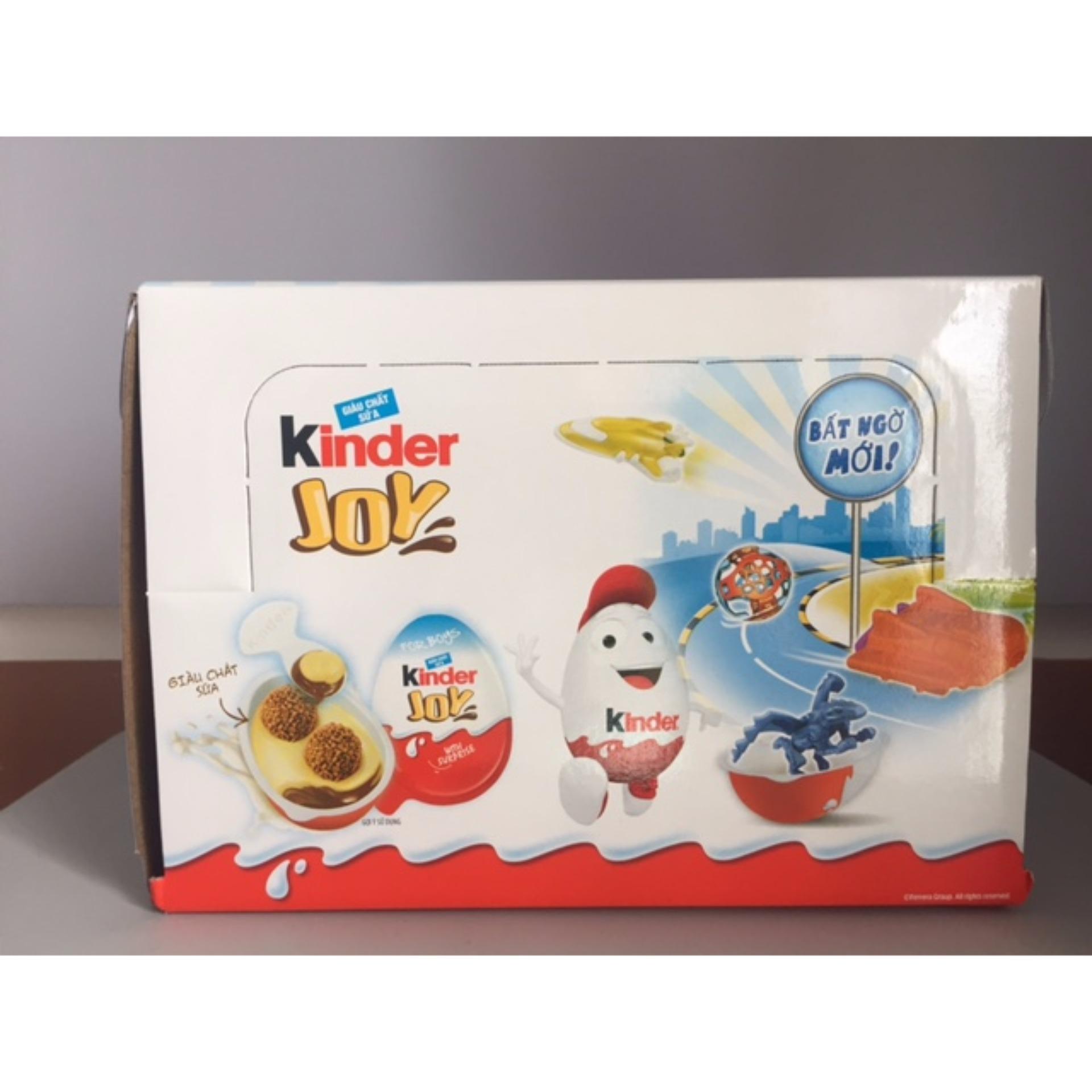 Kinder Joy – Hộp 24 Trứng