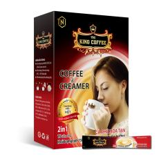 King Coffee Cà Phê Hòa Tan 2in1 Coffee & Creamer – Hộp 15 sticks