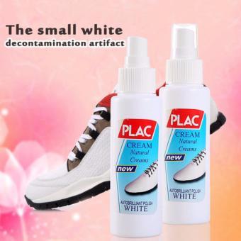 Lọ xịt vệ sinh, tẩy trắng giầy và túi xách PLAC 100ml (Trắng)
