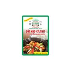 Lốc 10 gói Sốt kho cá/thịt DASAVI 50 g