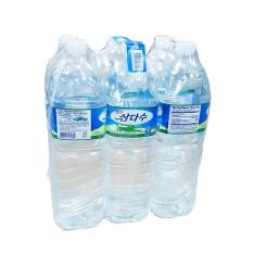 Lốc 6 chai Nước khoáng thiên nhiên Jeju Samdasoo 2L nhập khẩu Hàn Quốc