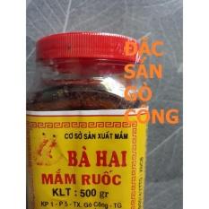 MẮM RUỐC BÀ HAI GÒ CÔNG (500g)