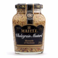 Mù Tạt Old Style Maille Wholegrain 210g