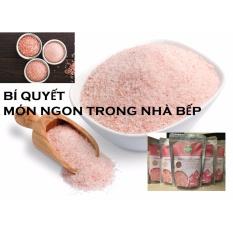 Muối ăn Himalaya nhập khẩu (túi 0.5kg)- Bí quyết nấu ăn ngon, sạch, an toàn