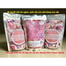 Muối ăn Himalaya nhập khẩu (túi 1kg)- Bí quyết món ngon, sạch, an toàn