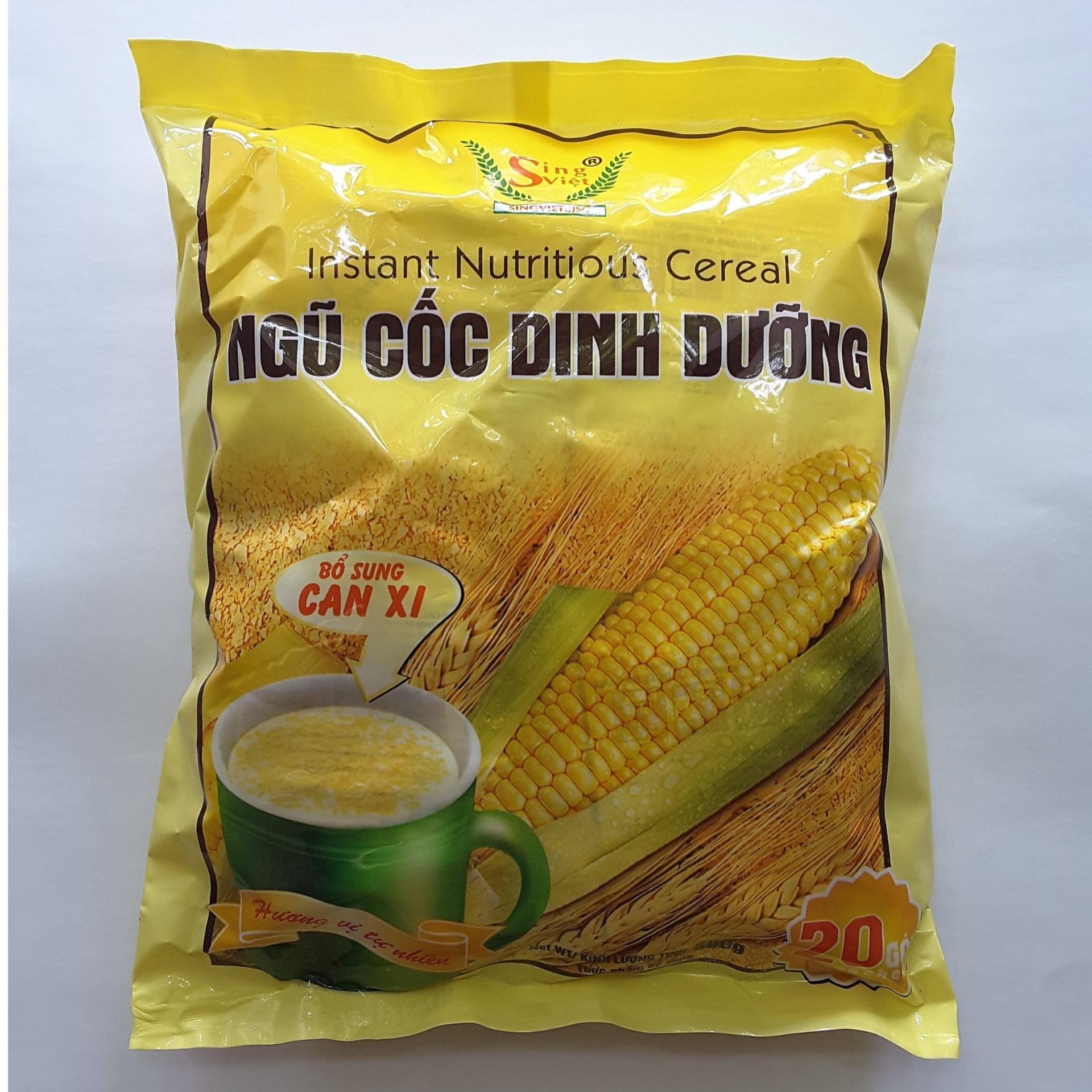 Ngũ cốc dinh dưỡng (Bổ sung can xi) Sing Việt -500gr -NPP HS shop