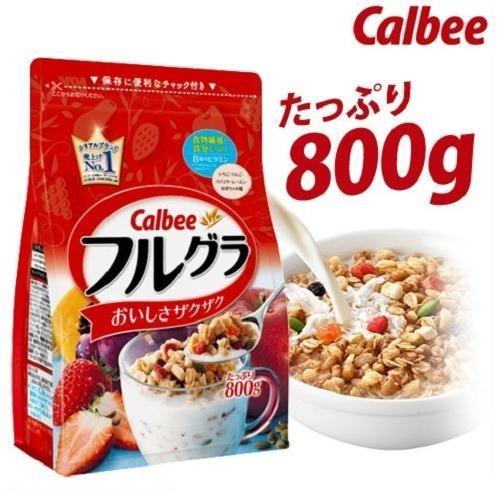 Ngũ cốc dinh dưỡng Calbee Nhật Bản date 27.10.2018