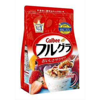 Ngũ cốc dinh dưỡng hoa quả sấy khô Calbee -800g