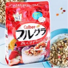 Ngũ cốc trái cây Calbee Nhật Bản – 800g
