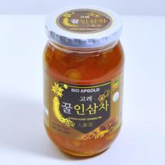 Nhân Sâm tươi 6 năm tuổi ngâm mật ong Hàn Quốc (580g/Lọ)