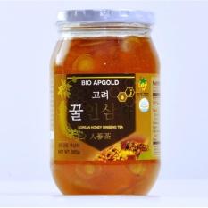 Nhân Sâm tươi ngâm mật ong Hàn Quốc Bio Apgold (580g/Lọ)