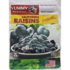Nho Khô Đen Yummy California Raisins 250g
