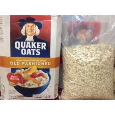Nửa thùng Quaker Oats 1 minutes (dạng cán vỡ) 2.26kg