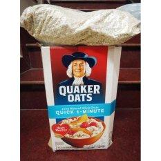 Nửa thùng yến mạch Quaker Oats 1 minutes (dạng cán vỡ) 2.26kg